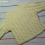 modèle tricot debutant torsade #15
