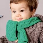 modèle tricot debutant torsade #16