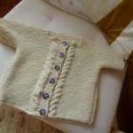 modèle tricot debutant torsade #18