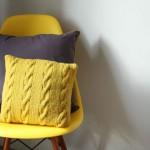 modèle tricot debutant torsade #3