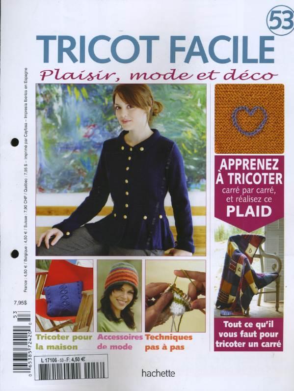 magazine tricot facile