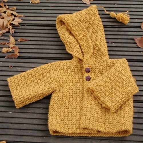 modèle tricot gilet layette #11