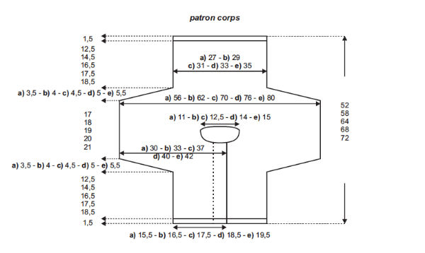 modèle tricot gilet layette #14