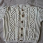 modèle tricot gilet layette #16
