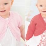 modèle tricot gilet layette #17