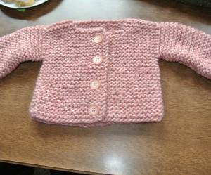 modèle tricot gilet layette #18