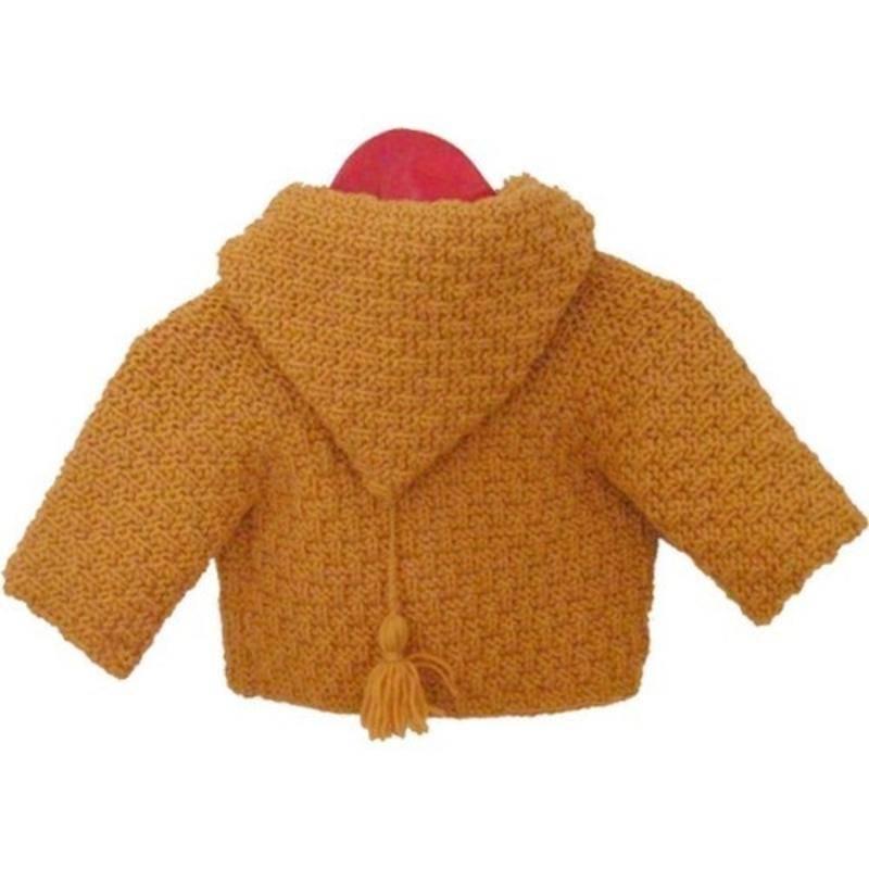 modèle tricot gilet layette #2