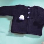 modèle tricot gilet layette #5