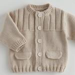 modèle tricot gilet layette #7