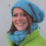 modèle tricot gratuit bonnet #10