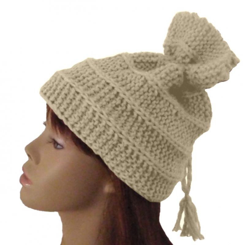 modèle tricot gratuit bonnet #13