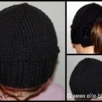 modèle tricot gratuit bonnet #18