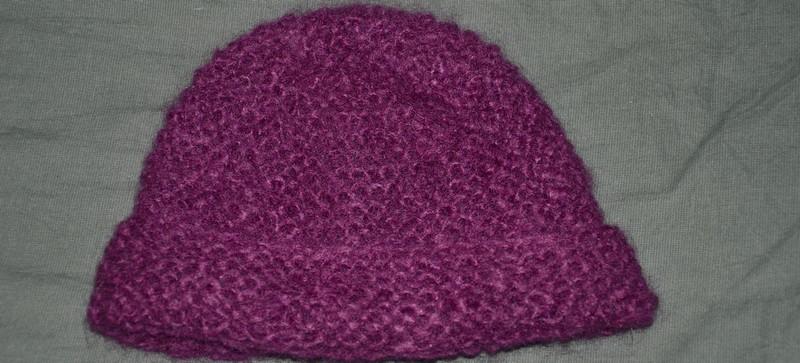 modèle tricot gratuit bonnet #4