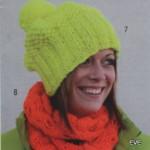 modèle tricot gratuit bonnet #9