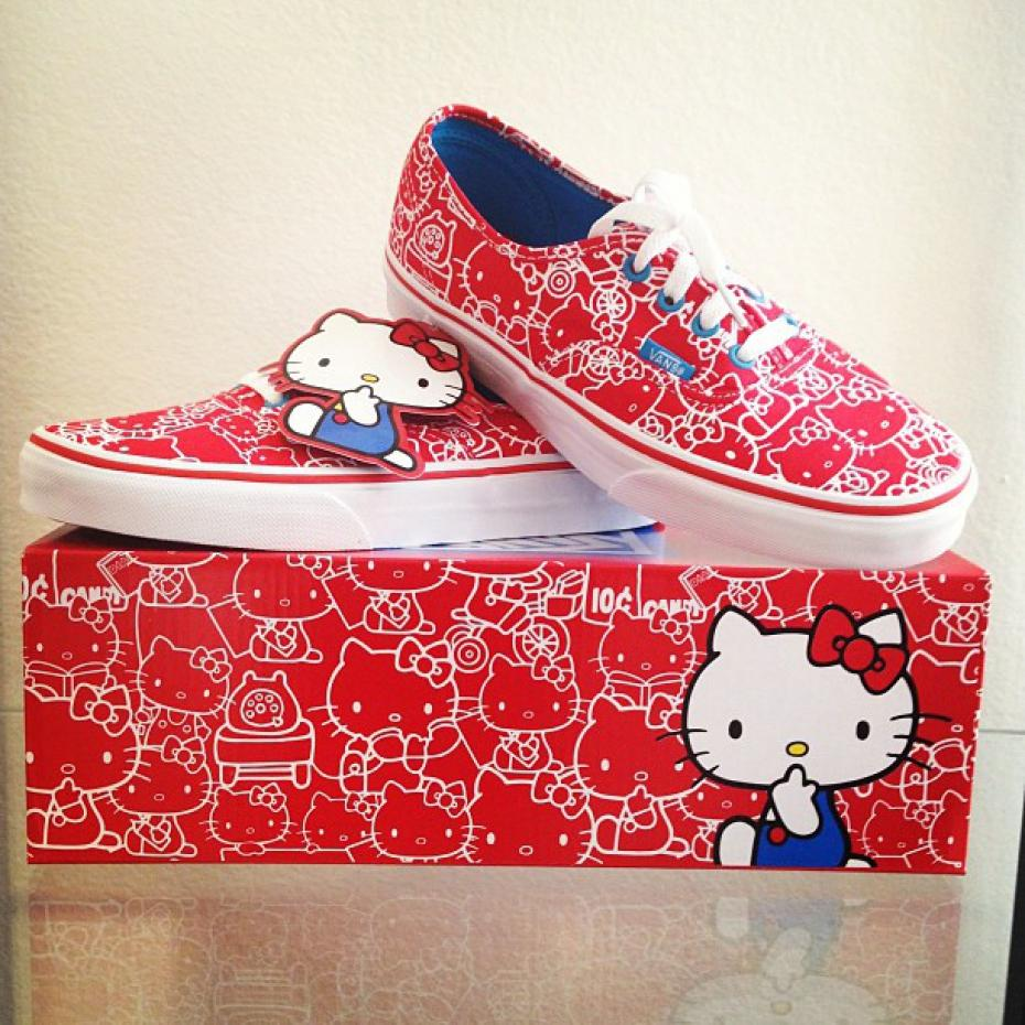modèle tricot hello kitty vans #11