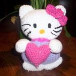 modèle tricot hello kitty windows color #11