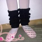 modèle tricot jambière #12
