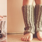 modèle tricot jambière #15