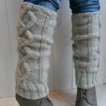 modèle tricot jambière #1