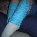 modèle tricot jambière #2