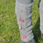modèle tricot jambière #3