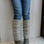 modèle tricot jambière #5