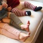 modèle tricot jambière #7