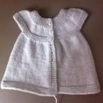 modèle tricot jersey robe bébé #11