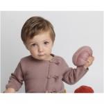 modèle tricot jersey robe bébé #13