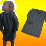 modèle tricot jersey robe bébé #14