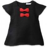 modèle tricot jersey robe bébé #1