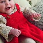 modèle tricot jersey robe bébé #6
