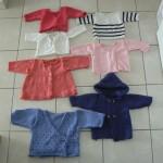 modèle tricot jersey robe bébé #7