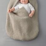 modèle tricot jersey robe bébé #8