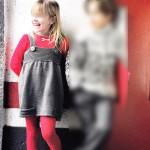 modèle tricot jersey robe bébé #9