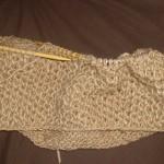 modèle tricot nid d abeille au #13