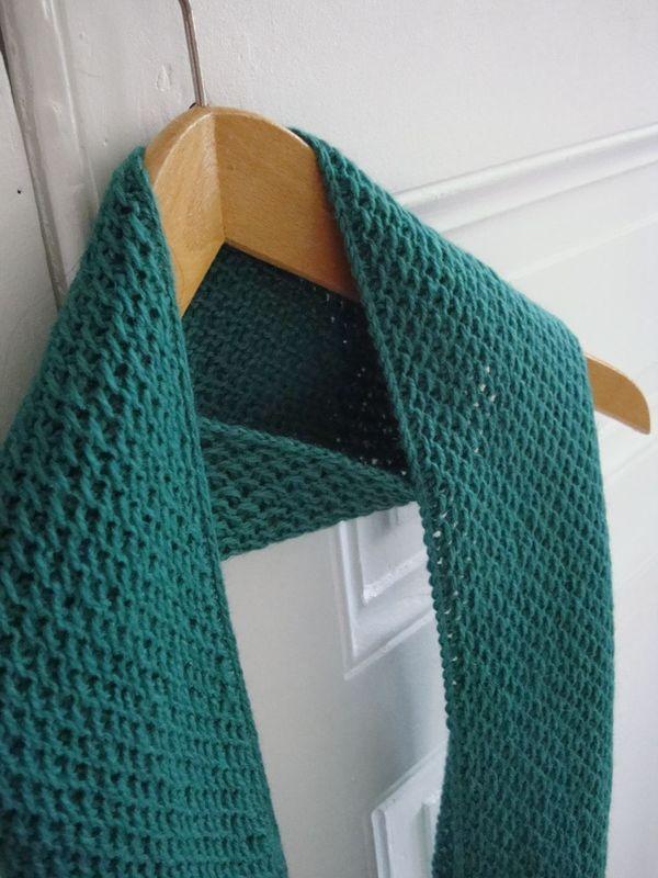 modèle tricot nid d abeille au #18