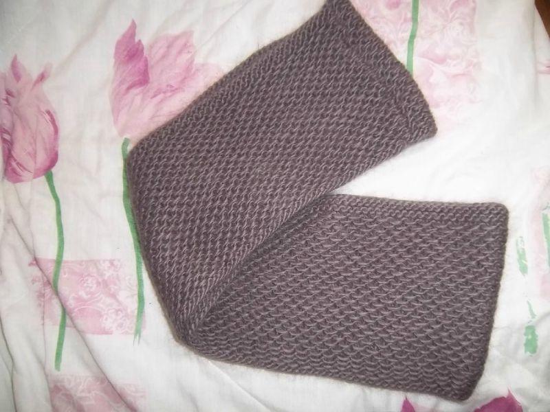 modèle tricot nid d abeille au #6