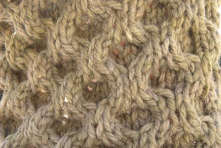 modèle tricot nid d abeille au #1