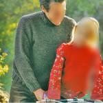modèle tricot point de riz pull #10