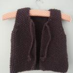 modèle tricot point de riz pull #11