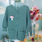 modèle tricot point de riz pull #14