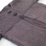 modèle tricot point de riz pull #4