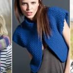 modèle tricot point de riz pull #6