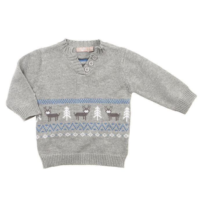 modèle tricot pull col v #12