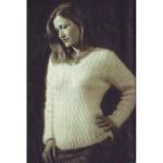 modèle tricot pull col v #13