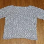 modèle tricot pull col v #14