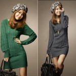 modèle tricot pull col v #17