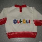 modèle tricot pull oui-oui #11