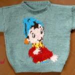 modèle tricot pull oui-oui #12